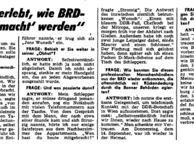 """""""Ich habe erlebt, wie BRD-Bürger """"gemacht"""" werden"""""""