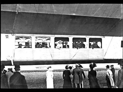 Unbekannte Zeppelin Fotos