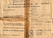 DDR-Passierschein