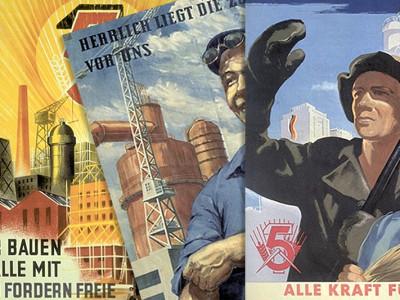 Endlich wieder Propaganda-Plakate!